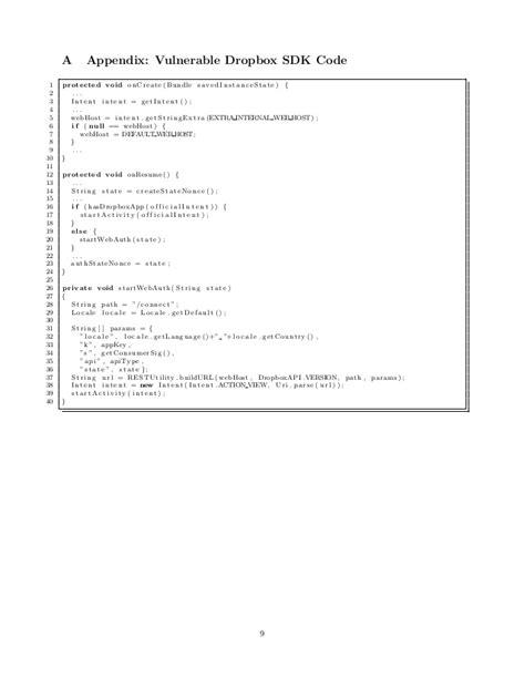 dropbox sdk remote exploitation of the dropbox sdk for android