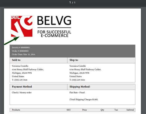 change invoice design magento download magento invoice pdf template edit rabitah net