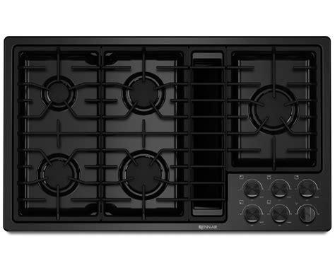 jenn air cooktops downdraft jenn air jgd3536bb 36 quot jx3 downdraft gas cooktop black