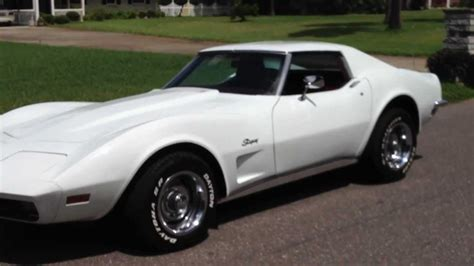 vintage corvette stingray stunning classic 1973 corvette stingray t top 350 v8 for