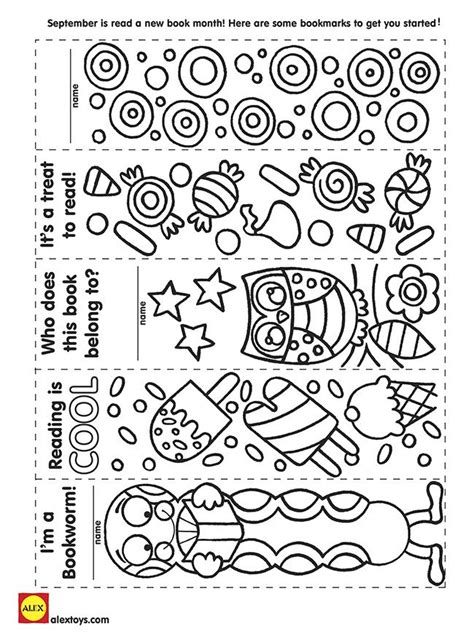 printable animal bookmarks to color image result for free printable bookmarks to color