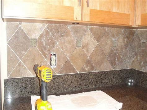 How To Install Glass Mosaic Tile Kitchen Backsplash by How To Install Tile Backsplash Casual Cottage