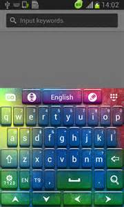 go keyboard color hd free app android freeware