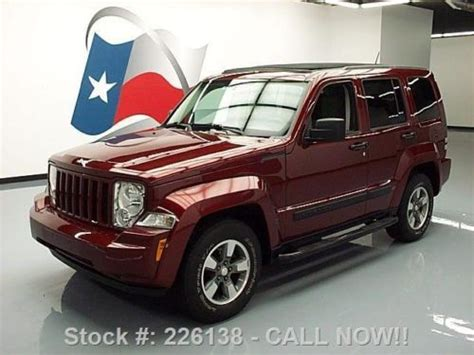 Jeep Liberty With Sky Slider For Sale Sell Used 2008 Jeep Liberty Sport 3 7l V6 Sky Slider