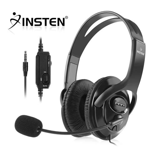 Headphone With Mic wired gaming stereo headset headphone with microphone for sony ps4 playstation 4 ebay