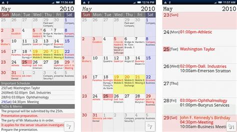I S D Calendar Trouble With S Planner Android Forums At