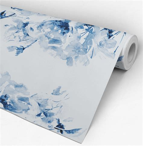 blue self adhesive wallpaper moonwallstickers com