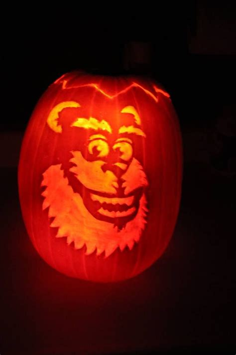 sully pumpkin template 22 best inc pictures images on disney