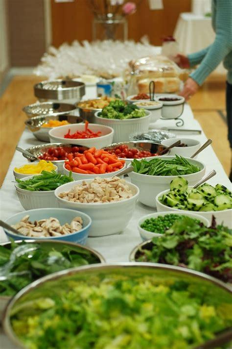 relief society salad bar church callings pinterest