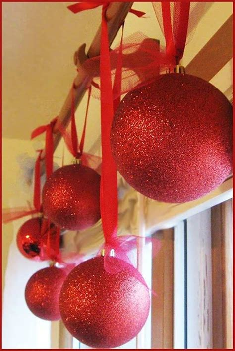 Oversized Decorations by Spectacularly Easy Diy Ornaments For Your Tree