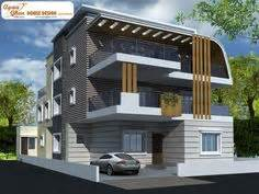 floor plan for modern triplex 3 floor house click on 1 kanal modern contemporary design 3d front elevation sukh