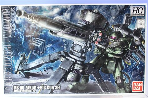Bandai Hg Ms 06 Zaku Ii Big Gun Set hg 1 144 ms 06 zaku ii big gun set gundam thunderbolt