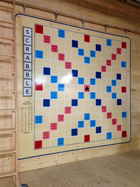 wall scrabble board the painted image traditional and contemporary