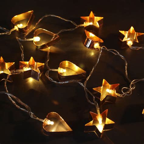 fun copper cookie cutter lights daisy hardcastle