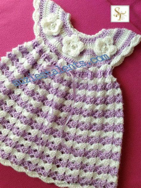 crochet baby dress crochet baby dress handmade baby dress