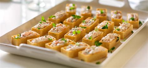 canape history philadelphia recipe smoked salmon canapes with