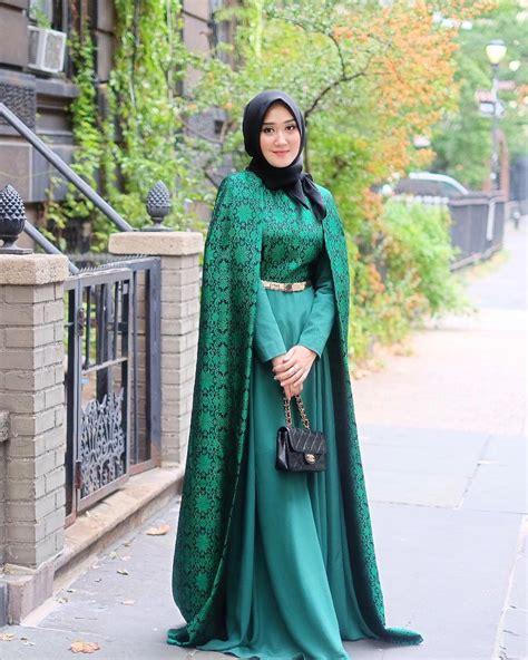Busana Pesta Muslimah 19 desain kebaya pesta muslimah modern terbaru 2018