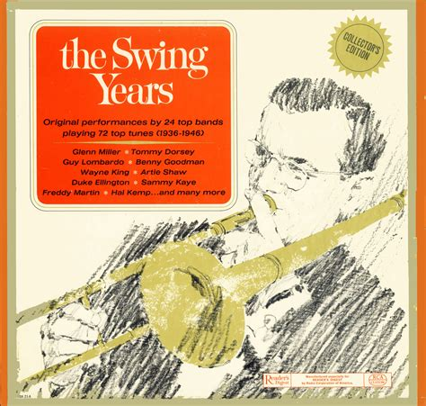 swing years swing years readers digest rda21 boxed set vinyl lp