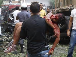 Repair In Beirut Shocking Photos Show How Lebanese 10 Survived Deadly Car Bomb Blast In Beirut Daily