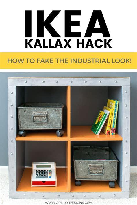 kallax hack ikea kallax hack industrial storage for a boys bedroom