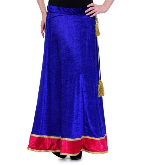 buy stylechiks blue velvet skirts at best prices in
