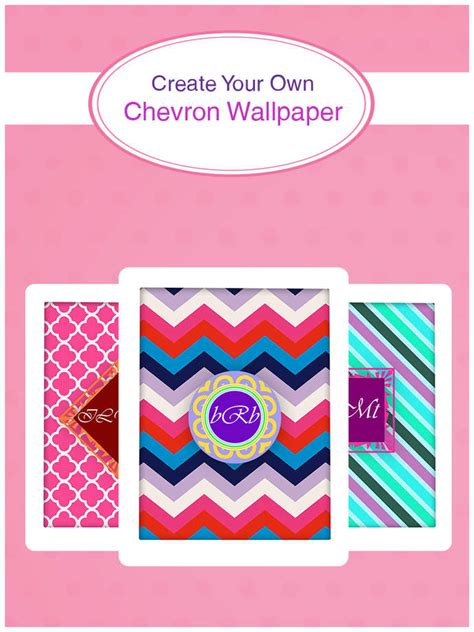 create your own wallpaper app in inspiring create your own monogram wallpapers maker create your own chevron