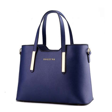 Navy Vanity by 2016 Best Selling 9 Colors Designer Brand Women Tote