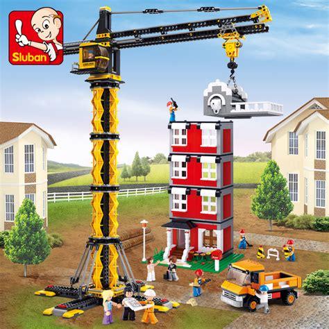 Free Shipping Sluban Crane Building - aliexpress buy model building kits compatible with