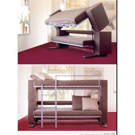 couch folds into bed couch folds out into a bunk bed for the home pinterest