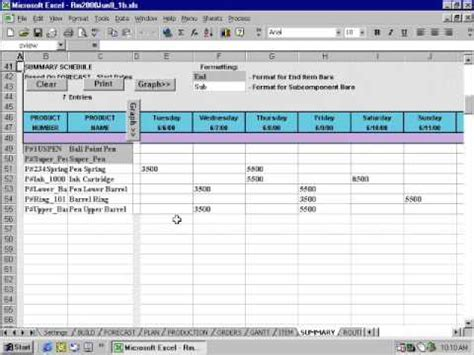 workforce plan template exle resource manager for excel overview
