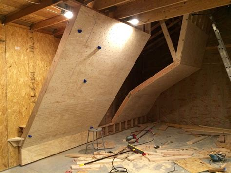 home climbing wall plans the best home bouldering wall design