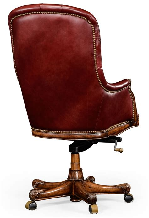 living room desk chair adjustable leather desk chair for living room