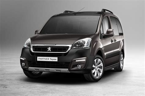 peugeot partner peugeot partner series facelifted for geneva w videos