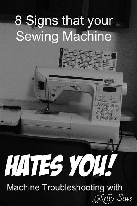 8 Signs You An Overeating Problem by 8 Signs Your Sewing Machine Secretly Hates You How To