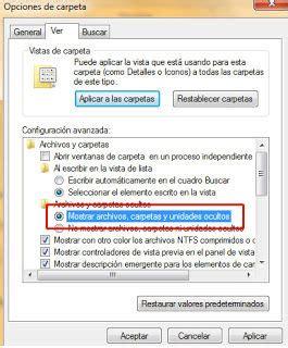 ver imagenes ocultas windows 7 como ver archivos y carpetas ocultas en windows 7 info