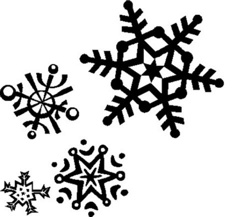 snowflake pattern clipart snowflake clipart