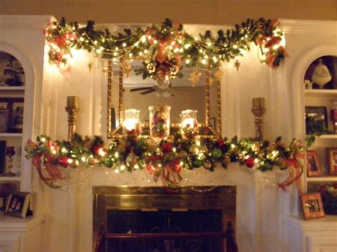 christmas mantle garland holiday decor and design ideas