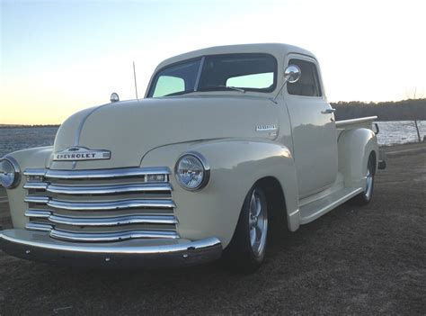 cadillac and chevrolet 1949 chevrolet 3100 truck chopped cadillac 500
