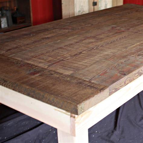 tisch beizen diy farmhouse table