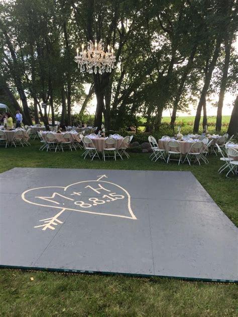 backyard dance floor build a dance floor outside suspended chandelier in the