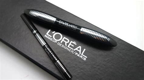 Makeup Loreal Terbaru baru di drugstore maskara dan eyeliner l oreal superstar daily