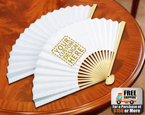 personalized wedding fans in bulk custom printed paper fans promotional fans free shipping