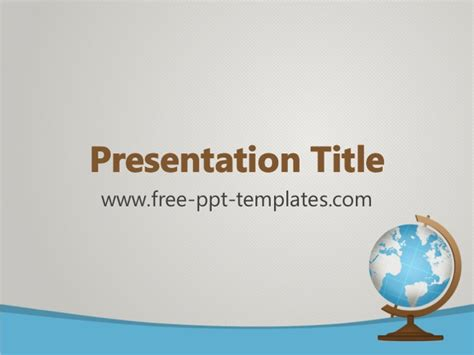 Geography Ppt Template Geography Powerpoint Templates