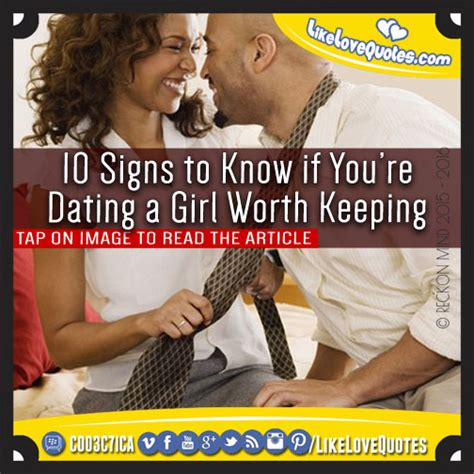 10 Signs Youre Dating A Loser by 10 Signs To If You Re Dating A Worth Keeping