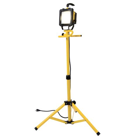 work light shop all pro led stand work light at lowes com