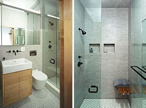 bathroom ideas for small spaces shower elegant efficiency nyc shoebox studio apartment solution