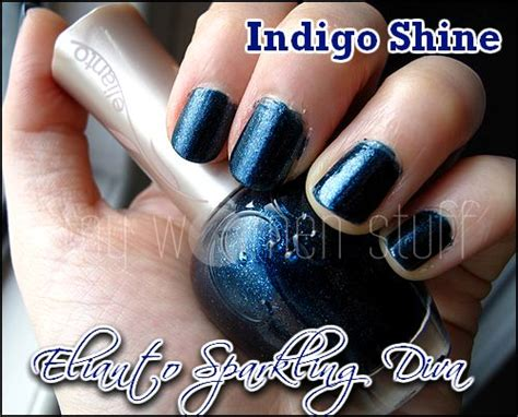 Of A Shower Gel Elianto elianto sparkling nail indigo shine my