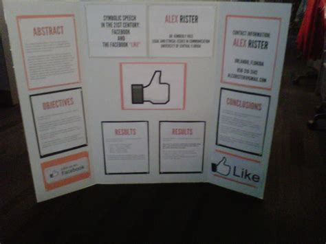 how to layout a poster board visual design creating communication