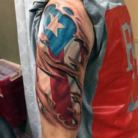 puerto rican flag tattoo design 50 flag ideas for