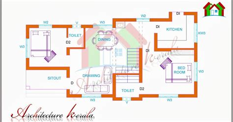 two bedroom kerala house plans two bedroom house plan for small families small plots